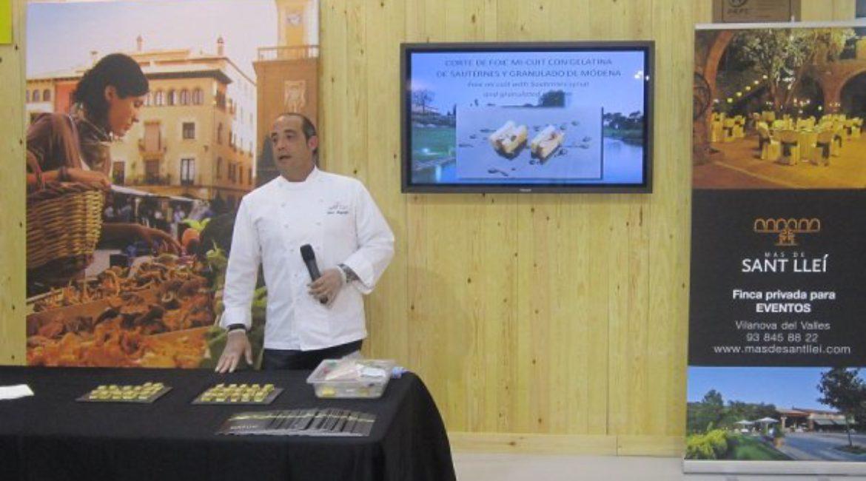 SHOW COOKING EN EL SALÓN INTERNACIONAL DE TURISMO DE CATALUÑA