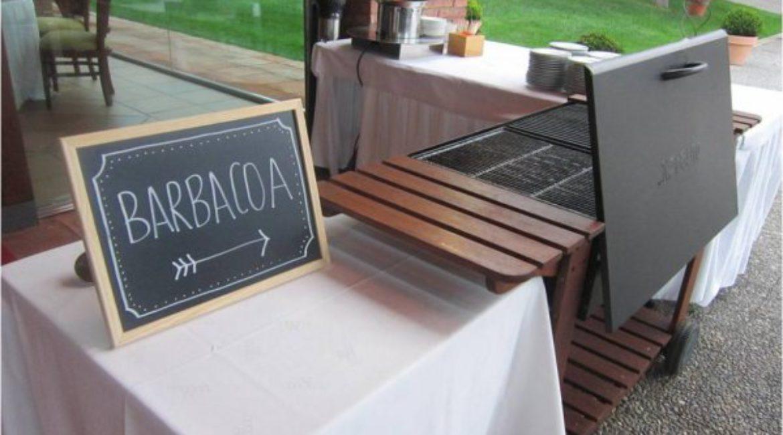 ¡Sirve una barbacoa de brochetas en el aperitivo de tu boda!
