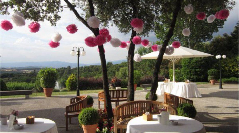 Como hacer la decoración de tu boda en el exterior