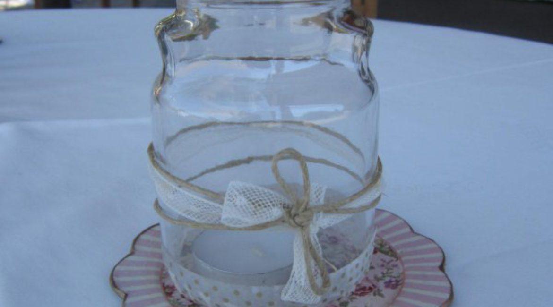 ¡Ilumina el aperitivo de tu boda de tarritos con velas!