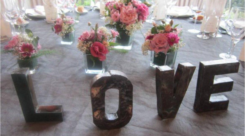 ¡Organiza tu boda romántica!