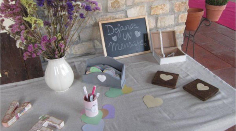 Crea un libro de firmas para ponerlo el día de tu boda!