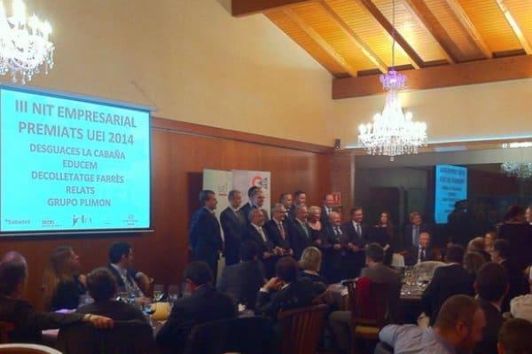 La III Nit Empresarial – Premis 2014 de la UEI – Cercle d'Empresaris al Mas de Sant Lleí
