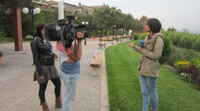 Am vergangenen Freitag, dem 24. April, sendete ein Team der España Directo von der TV1 ein Programm
