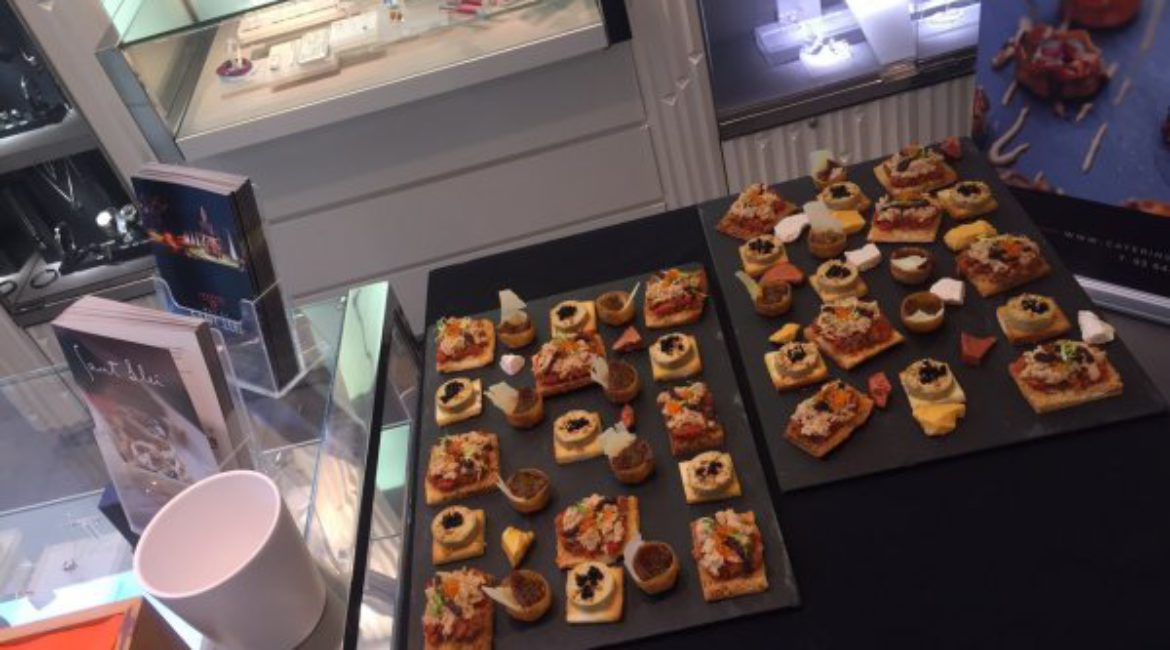 Catering Sant Lleí at a private Swarovski's event