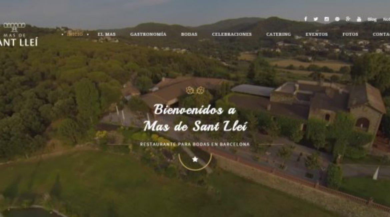 El nou web del Mas de Sant Lleí