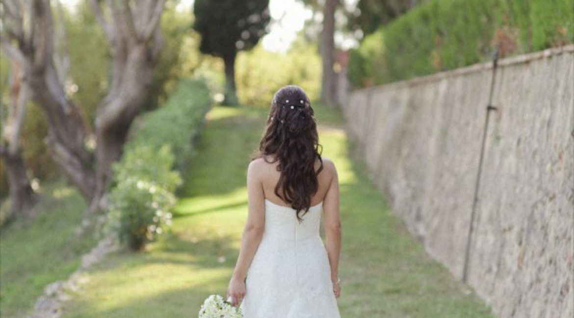 The perfect hairstyle for your wedding in Barcelona, Mas de Sant Llei