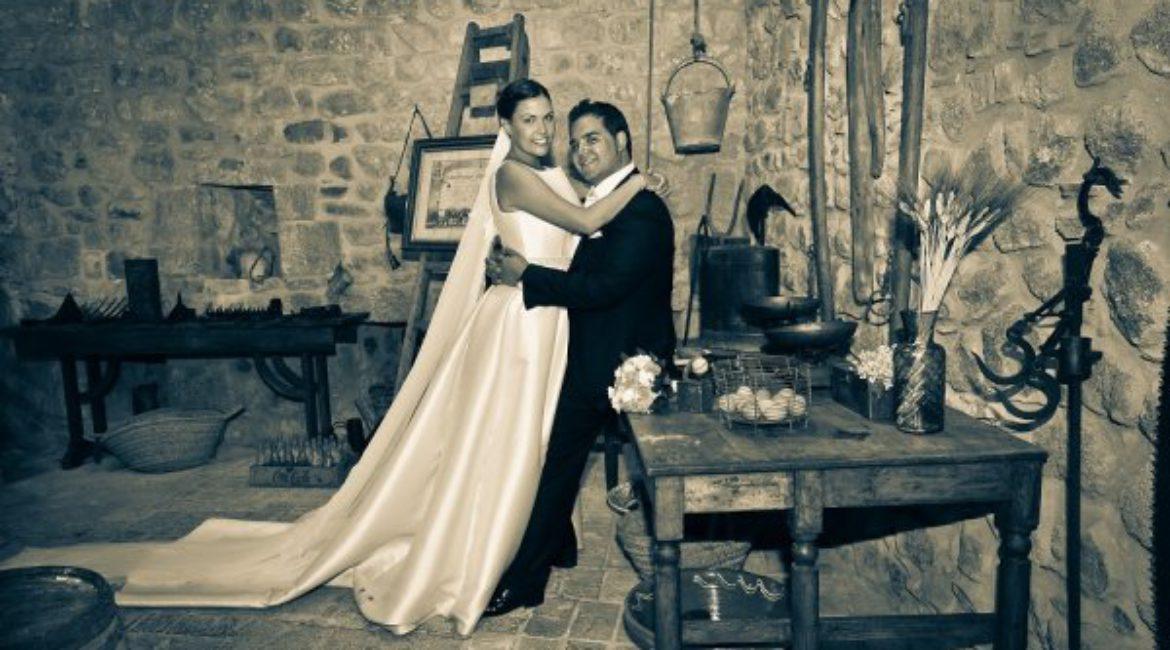La boda de Ignacio & Cristina en Mas de Sant Lleí