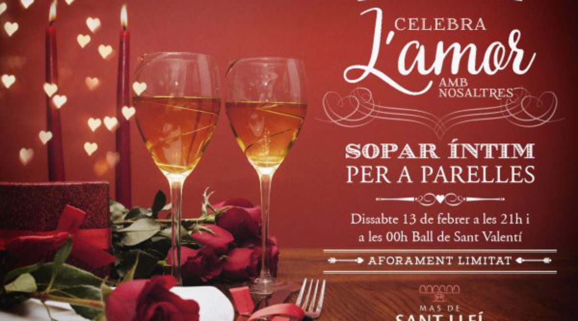 This year, celebrate Saint Valentine in a very special way