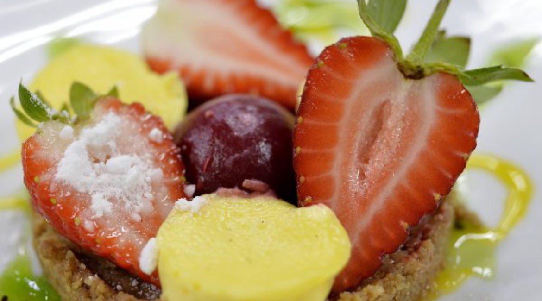 Menu tastings continue at Mas de Sant Lleí