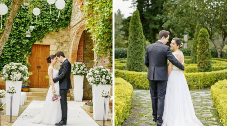 Una boda en blanco y rosa cuarzo