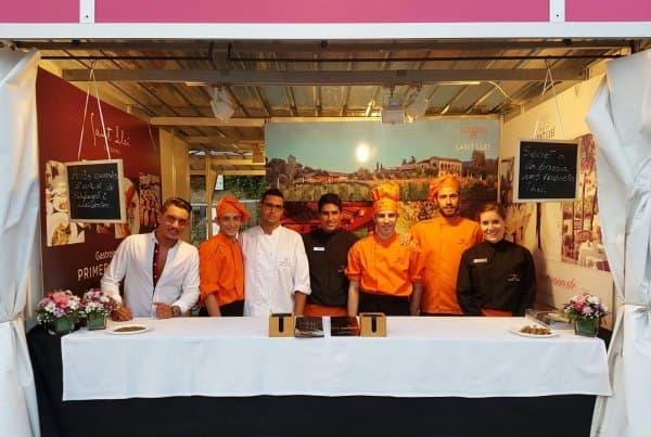 Auch in diesem Jahr nahm Mas de Sant Lleí an der Woche der Mostra Gastronòmica d'Alella teil, die im