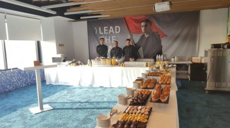 Autodesk multinationale mit Catering Sant Lleí