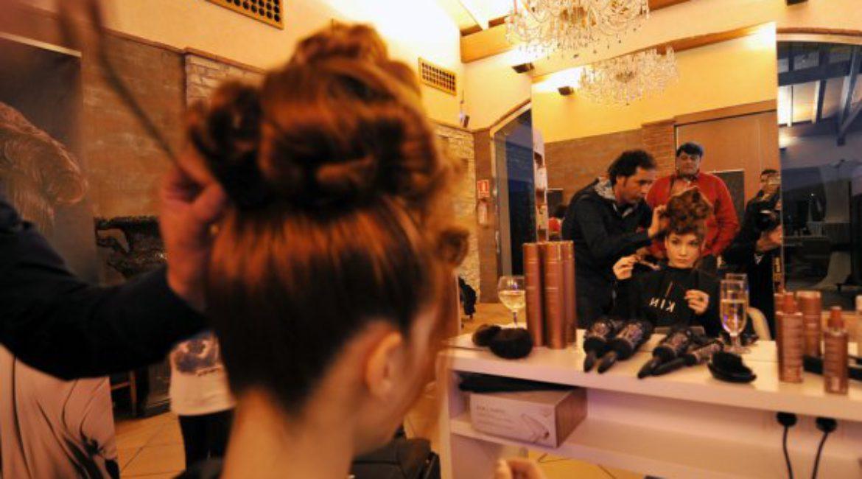 Presentación de la colección TUL-TUL de vestidos de novia by Jordi Dalmau en el Mas de Sant Lleí, Ba