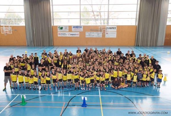 One more year, main sponsors of Vilanova del Vallès Basketball Club