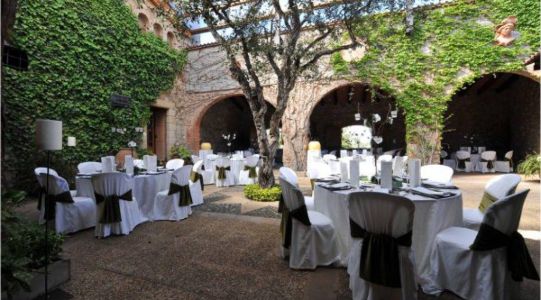 Идеальная свадьба в усадьбе Барселоны