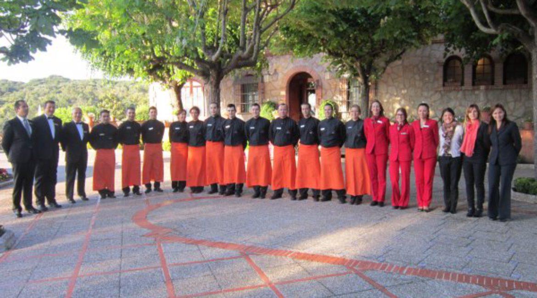 Os presentamos el personal de sala del Mas de Sant Lleí
