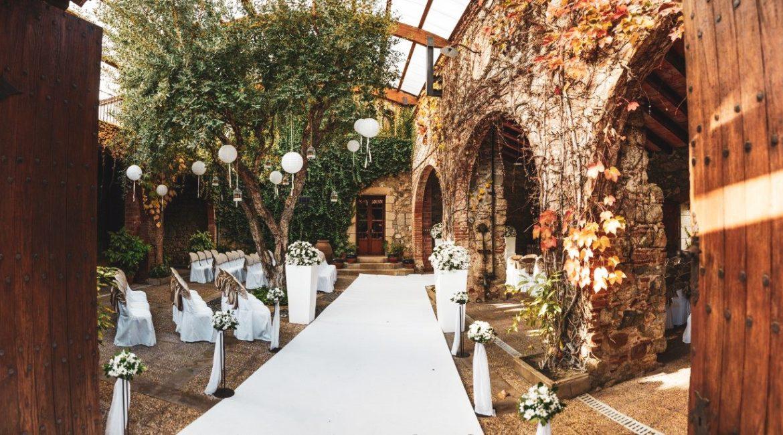 Wedding planner Barcelona en Mas de Sant LLeí