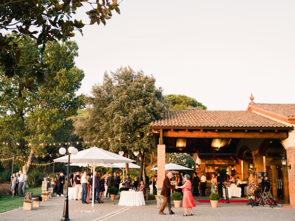 Mas de Sant LLeí - Aperitivo bodas exteriores