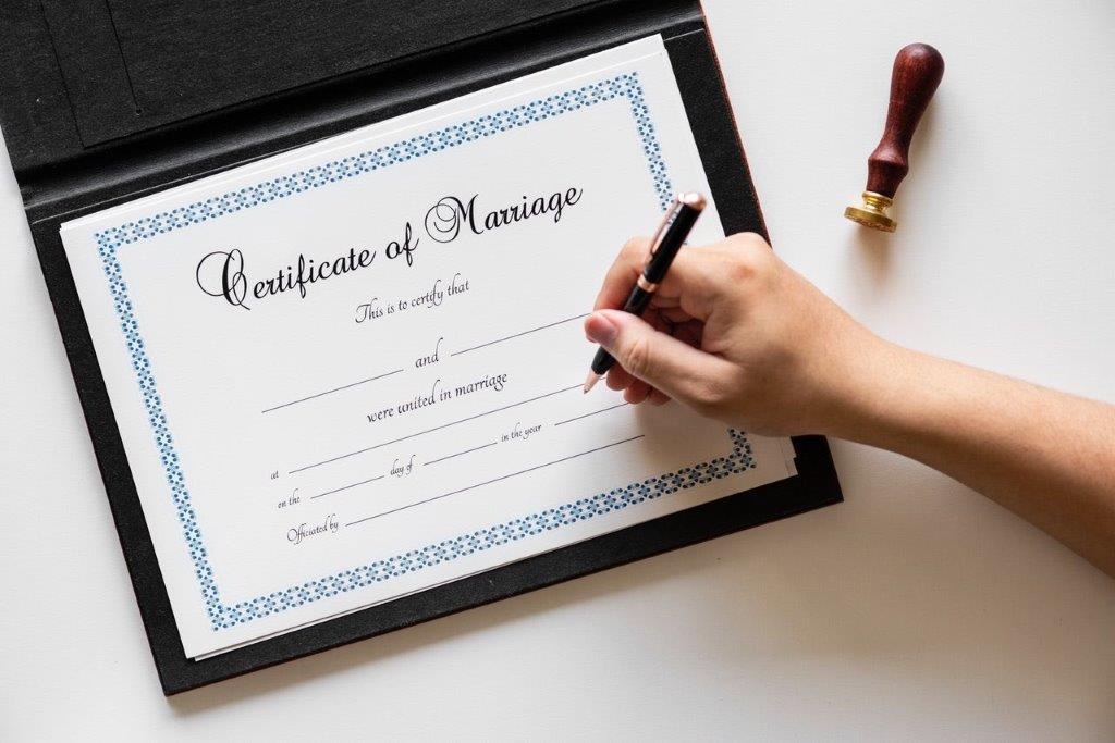 Casarse ante notario
