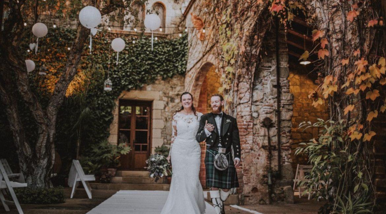 Una boda con raíces escocesas: Alejandra & Lex